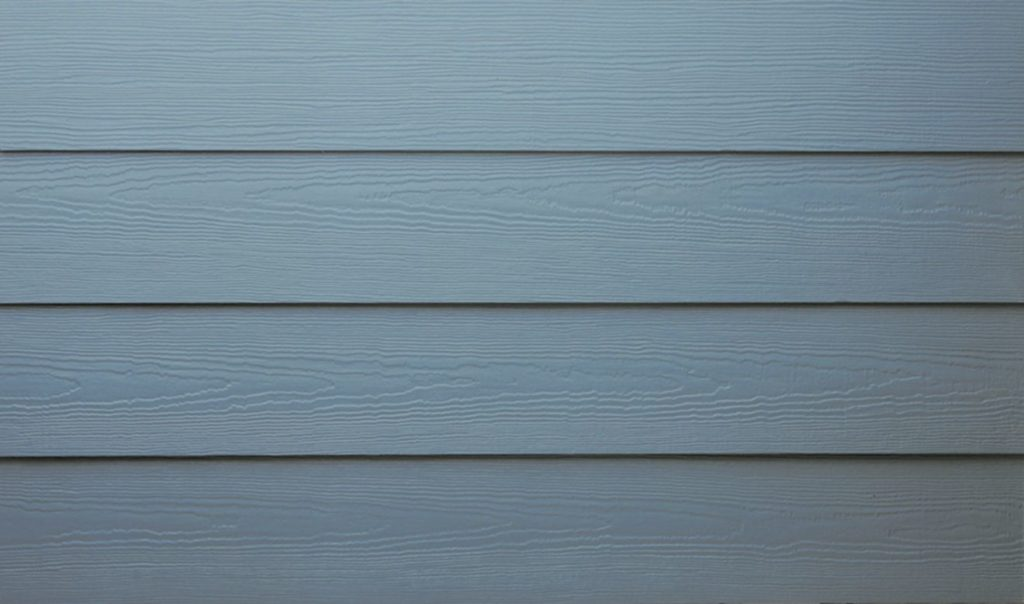 Photo of a molded pattern design for exterior siding installed on millions of homes.