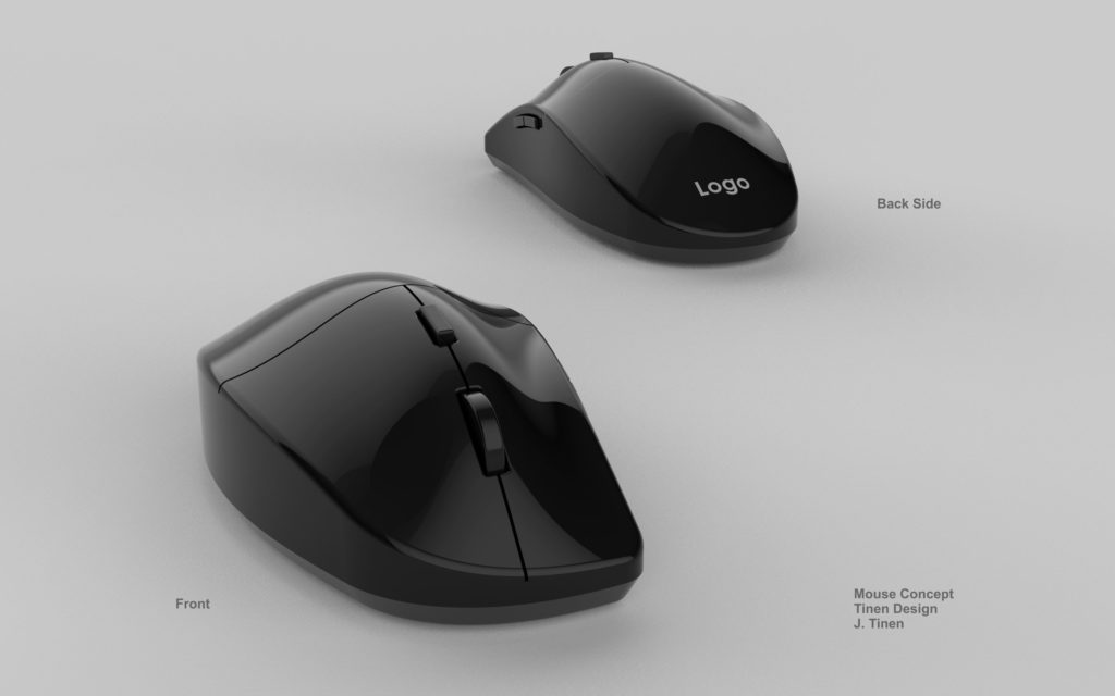 Mouse design based on human factors.